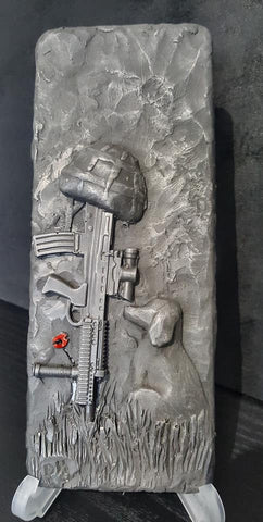Please Come Back (SA80) Remembrance Art Plaque