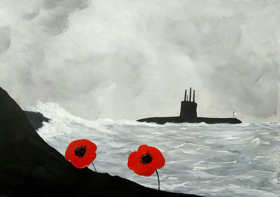 Poppy Art Silent Service Submarine