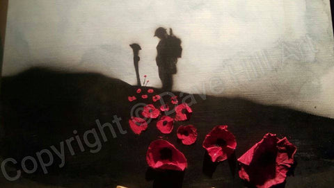 Original Painting - 'Spirit of Flanders Field'
