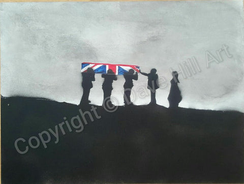 Original Painting - Darkest Day