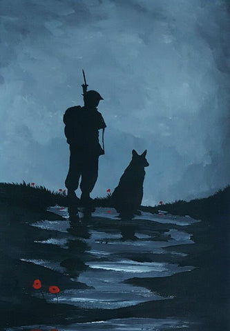 173 Limited Edition Giclée Print 173 - 'Vigilantly watching'