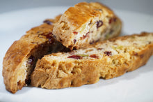 Cranberry Pistachio White Chocolate Biscotti - 1lb