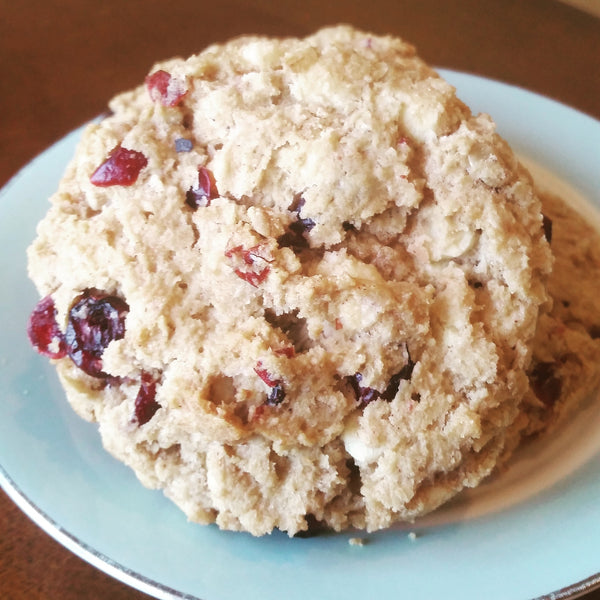 White Chocolate Cranberry Oatmeal Cookie (6)