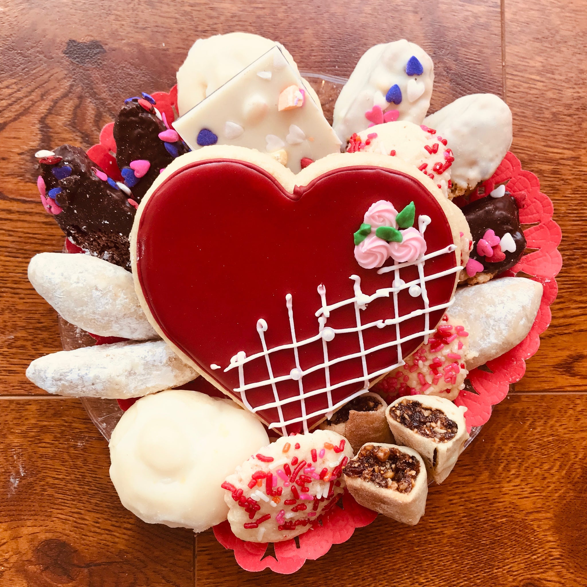 Valentine's Day Assortment - Small 1lb Cookie Assortment