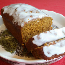 Pumpkin Loaf With Maple Glaze