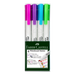 Dry-erase whiteboard markers- 4 pack fashion colours
