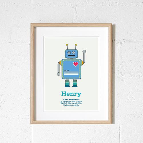 Robot birth print