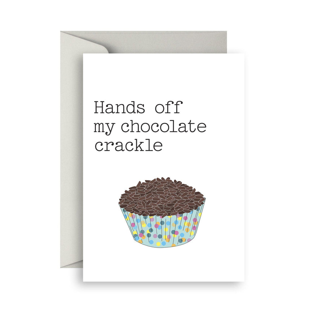 Chocolate crackle
