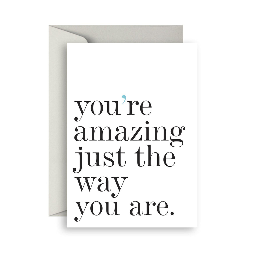 You're amazing