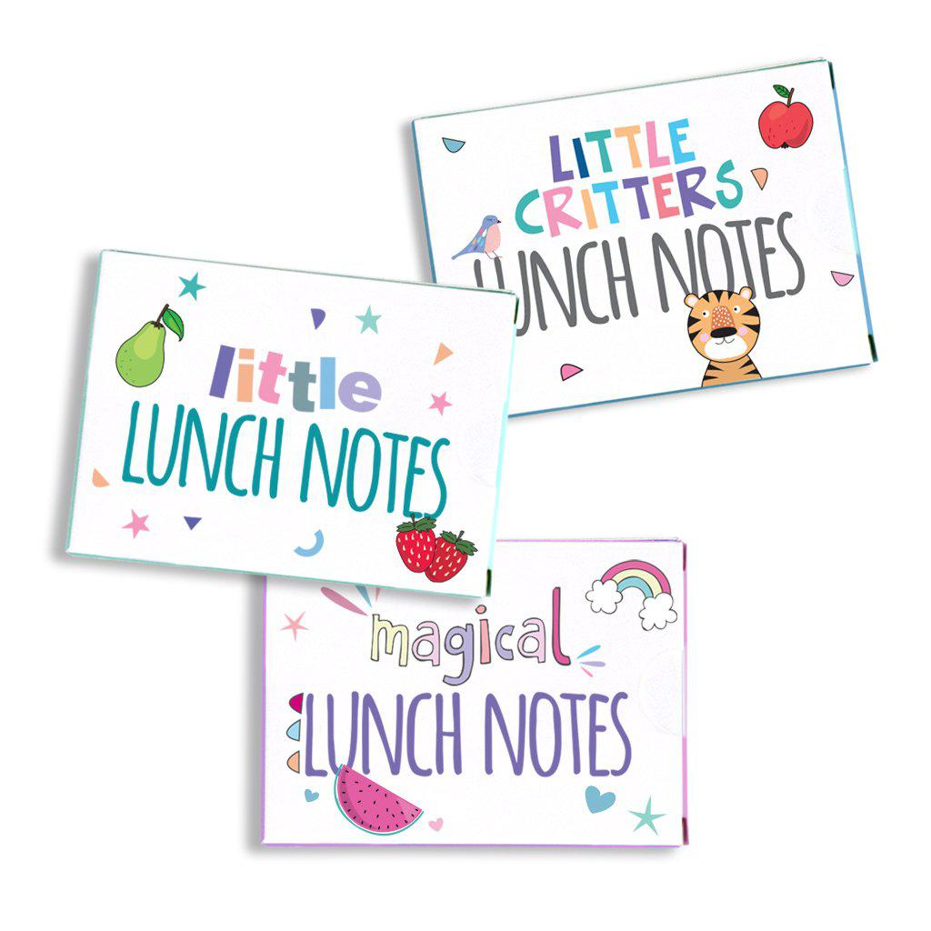 Lunch notes 3 pack