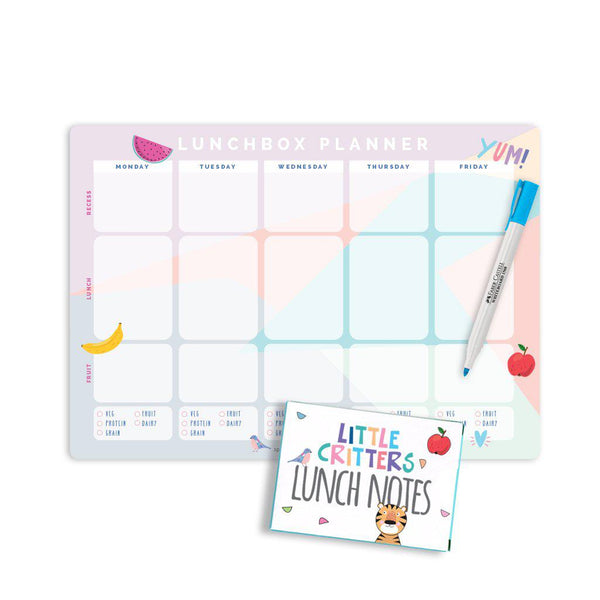 Lunchbox planner pack