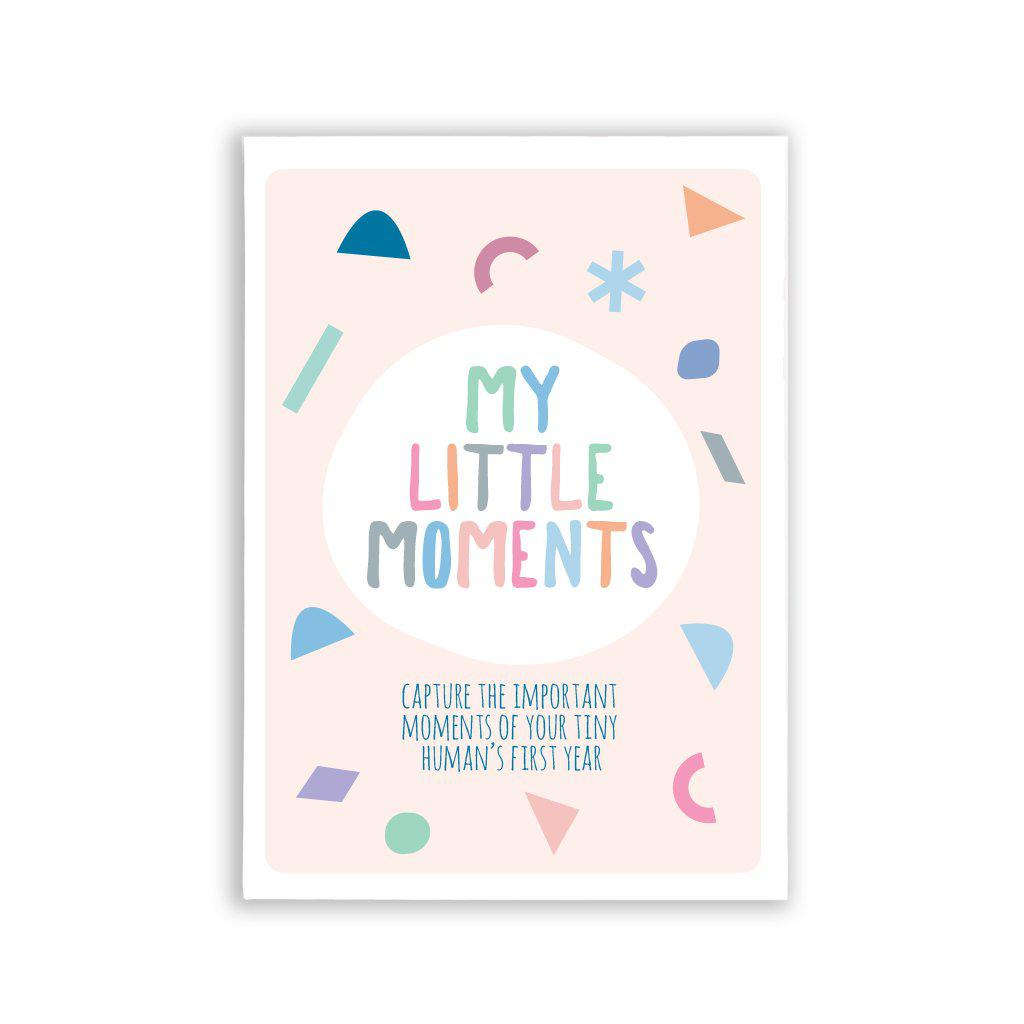 My little moments- Baby Milestone Cards