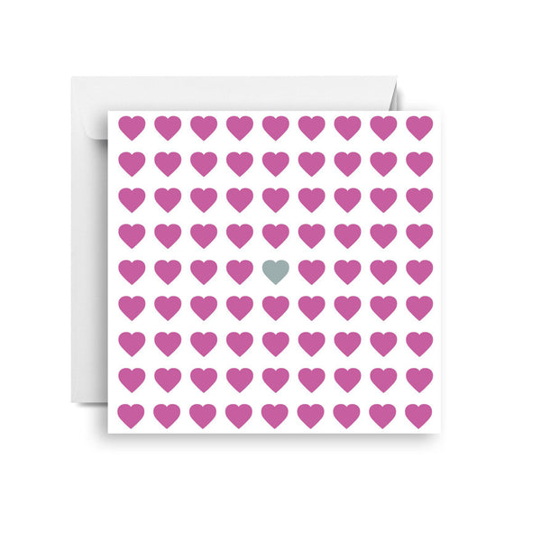 Pink hearts (small)