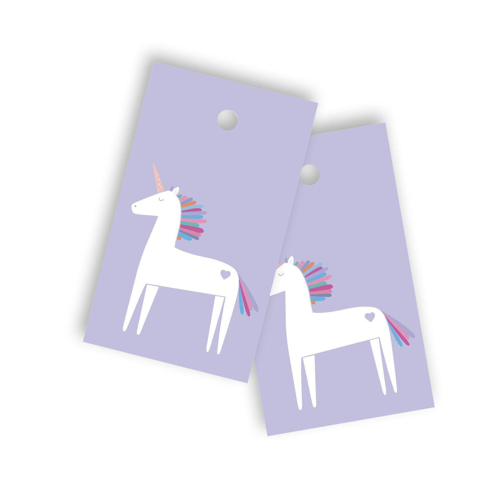 Unicorn gift tag