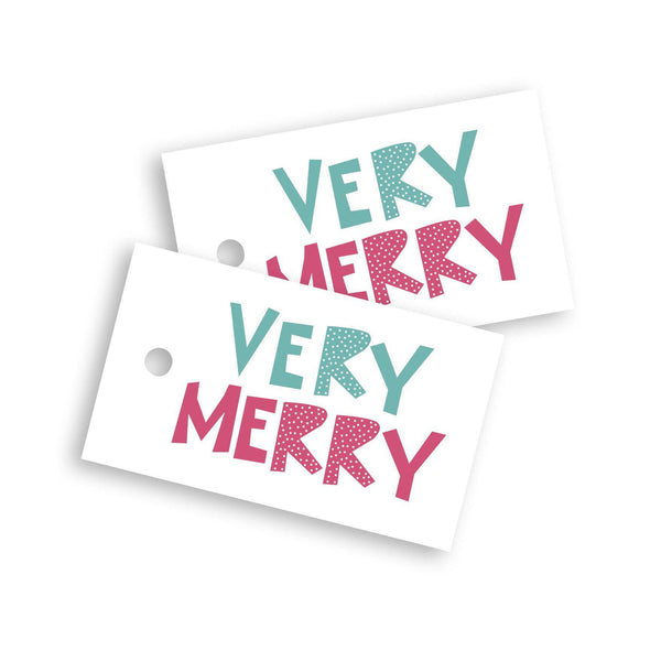 Very Merry gift tag