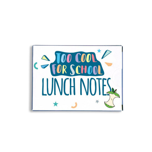 Too cool for school lunch notes