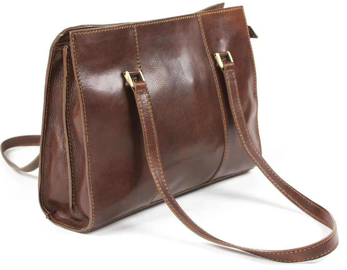 Italian Leather Ladies Business Shoulder Bag...