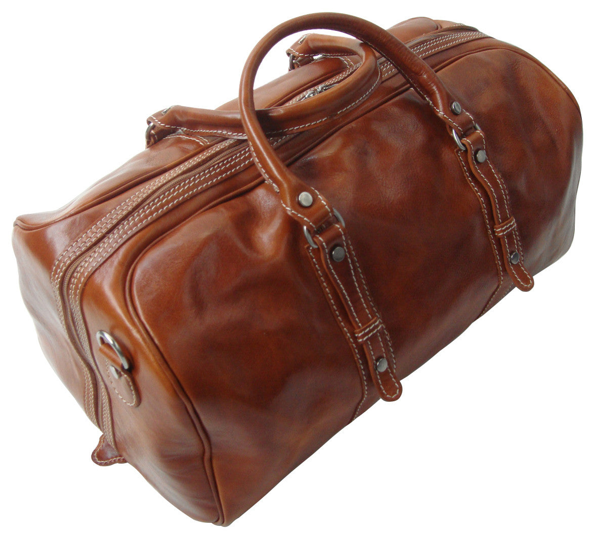 Genuine Italian Leather Holdall Tan Available...
