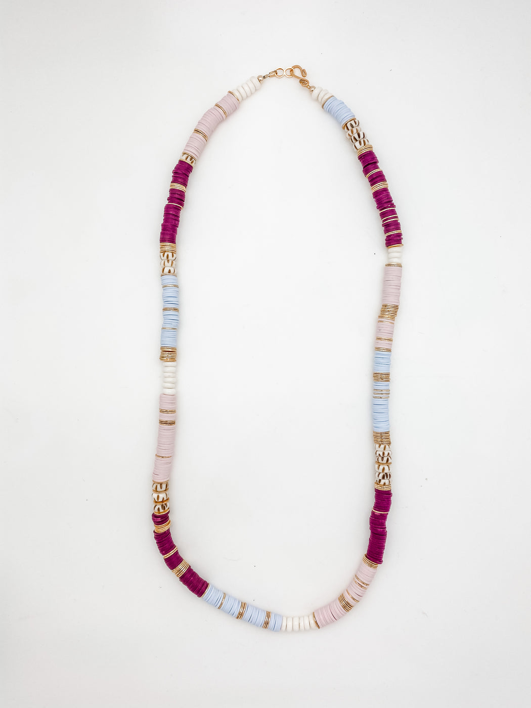 Stir Crazy Necklace Pink