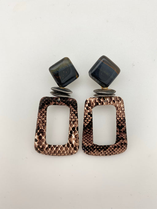 Willow Earrings Brown