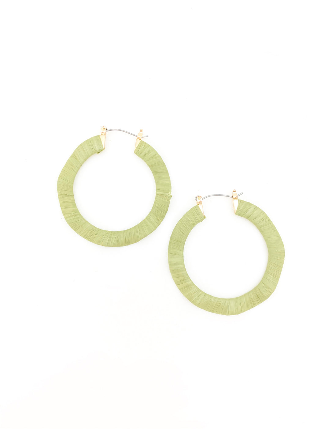 Conor Earring Lime Green