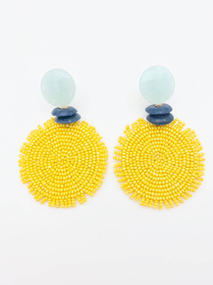 Millie Earring Yellow