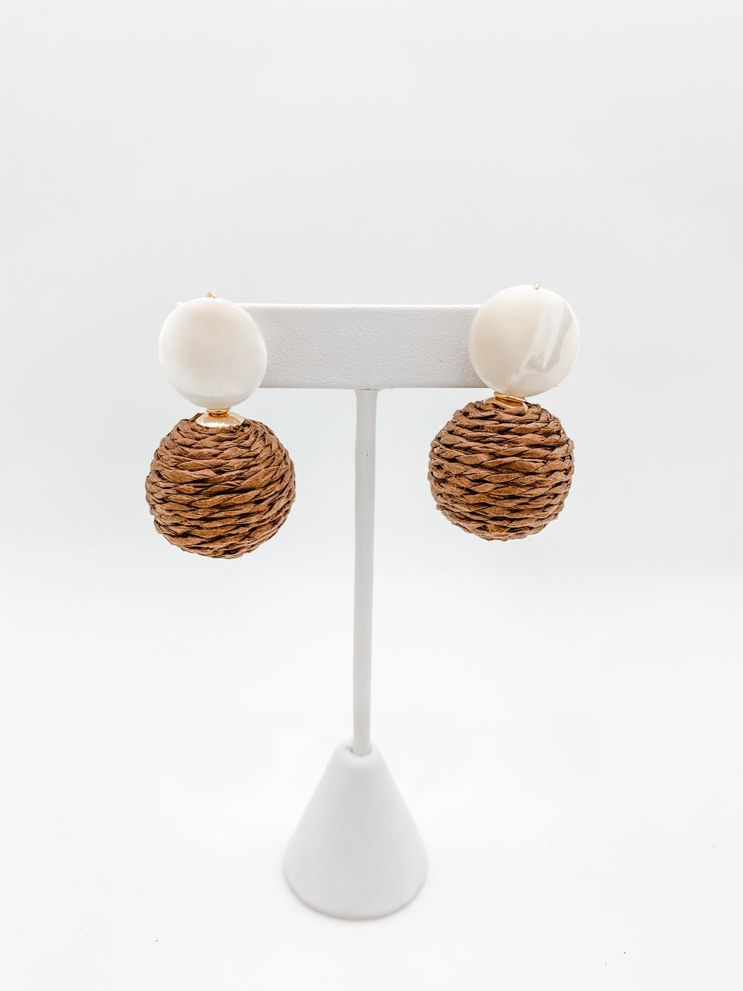 Lulu Earring Brown