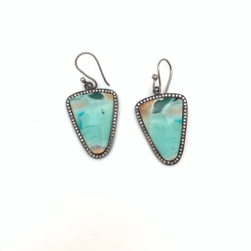 Beachside Opal Earrings