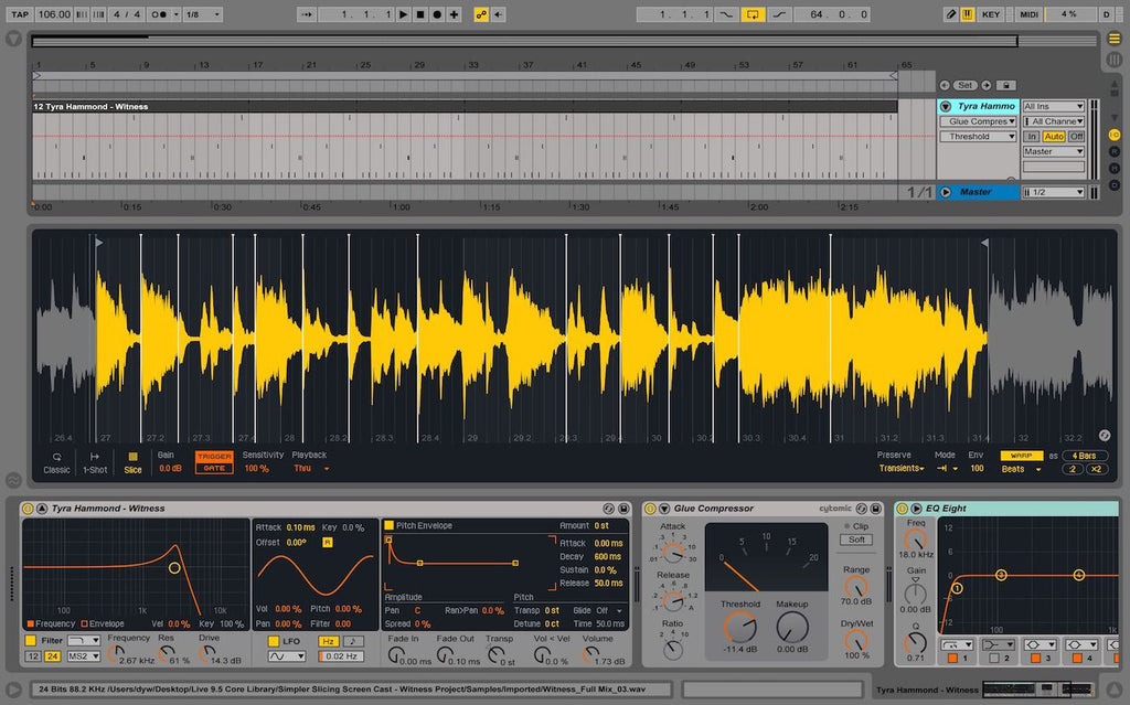 Ableton 9.5 update for Live,free for all users.