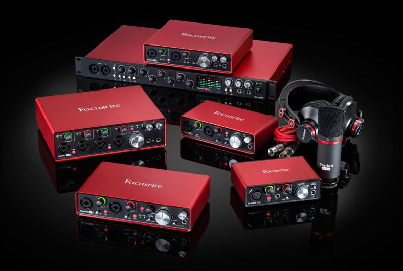 Focusrite Scarlett 2nd Gen new Specs