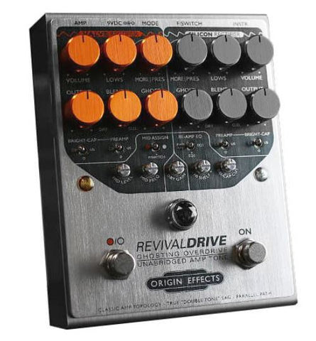 Origin Effects RevivalDRIVE 2-Channel Overdrive Pedal (Pre-Order)