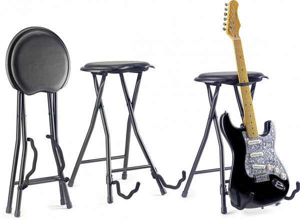 FOLDABLE GUITAR STOOL+STAND GIST-300