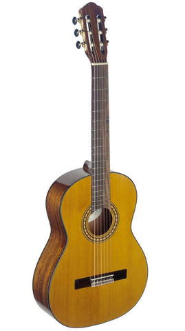 Angel Lopez Silvera series 4/4 cutaway acoustic-electric classical guitar #SILHG
