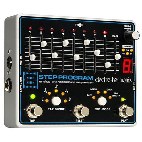 8 Step Program Analog Expression/CV Sequencer