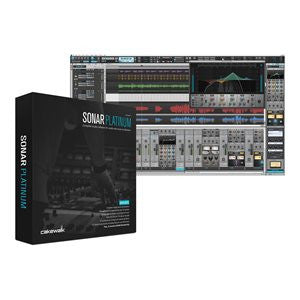 Cakewalk Sonar Professional Music Production Software