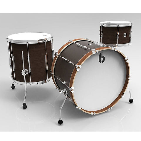 British Drum Co Lounge Series Drum Kits (Kensington Crown)