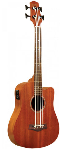 "Gold Tone 23"" acoustic-electric microbass with mahogany top and bag included"
