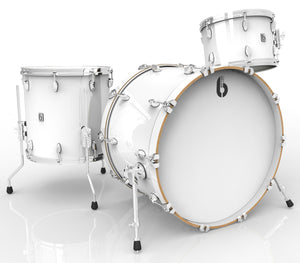 British Drum Co Legend Series Drum Kits (Piccadilly White)