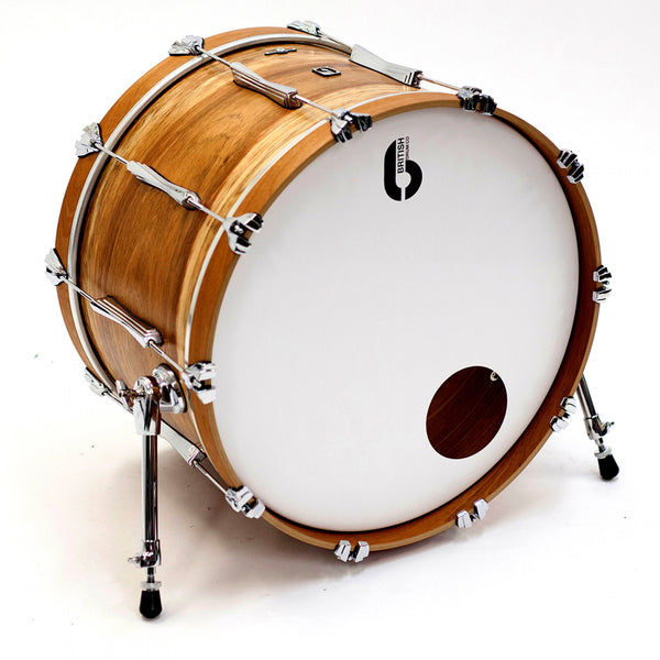 British Drum Co. Lounge 22in Limited Edition 4 Piece Shell Pack, Wild Etimoe