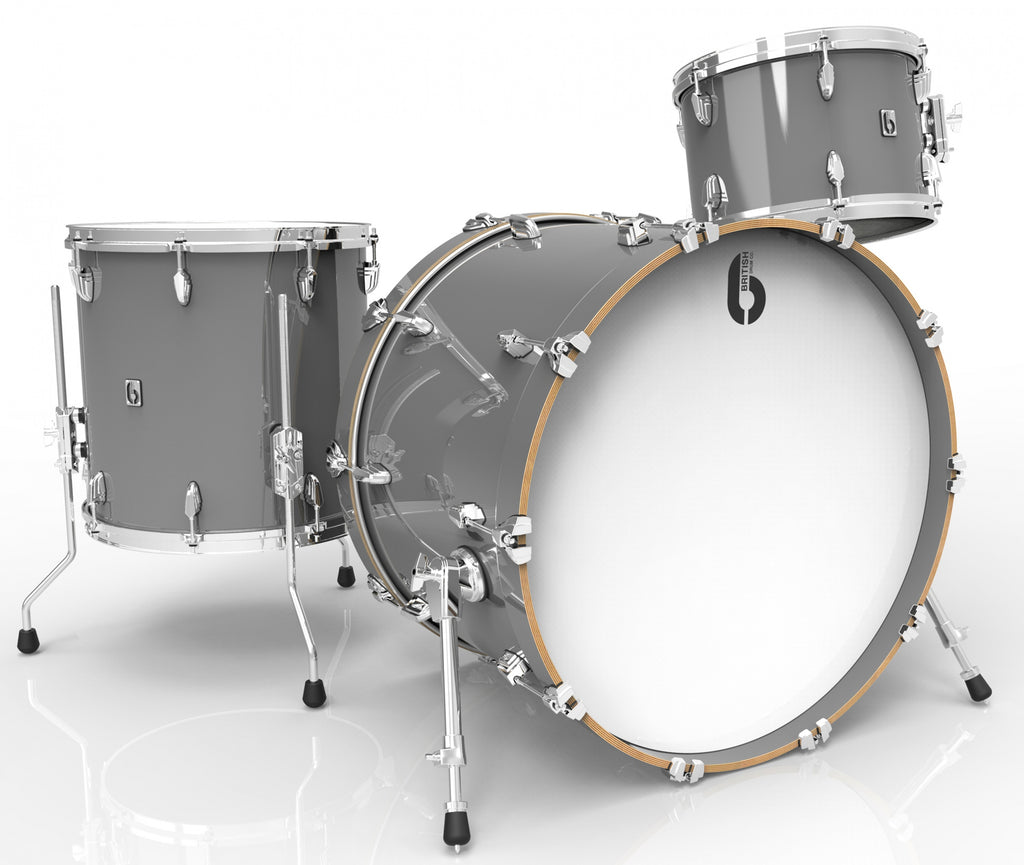 British Drum Co Legend Series Drum Kits (Winchester Grey)