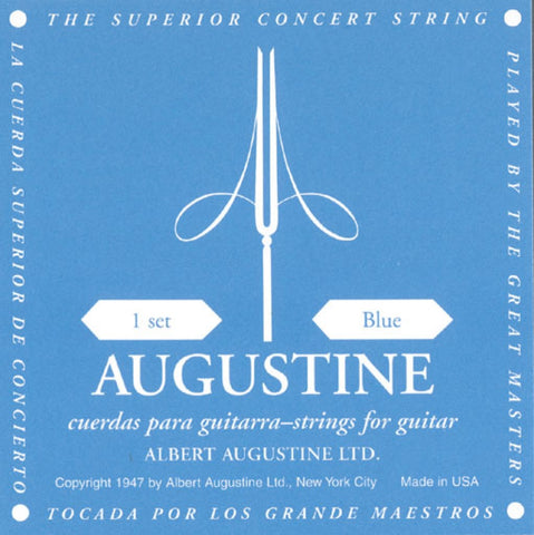 Augustine BLUE SETS Guitar Strings