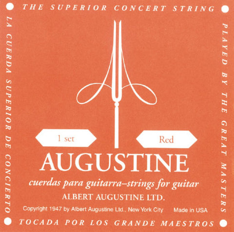Augustine Red Sets Guitar Strings