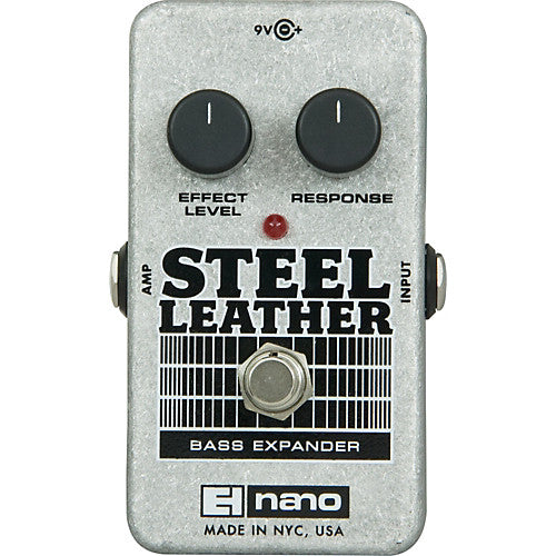 Steel Leather Attack Expander for Bass Guitar