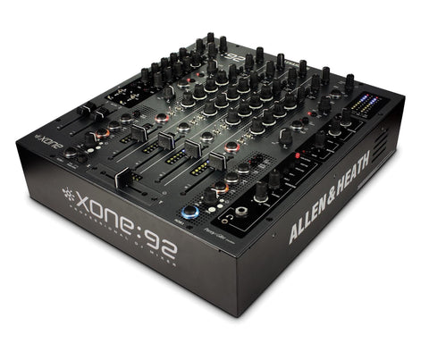 XONE 92 8:2 DJ/Club Mixer with Linear Faders