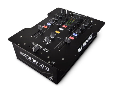XONE 23 DJ Mixer 2+2 Phono/Line Input & 3-Band Total Kill EQ