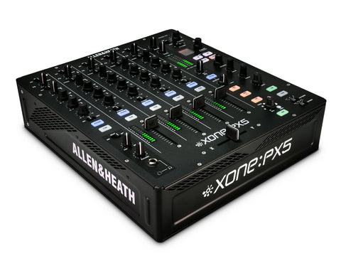 XONE PX5 4+1 Channel Mixer with Xone Filter and 3 Band EQ