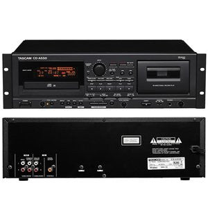 Tascam CD-A550 Combination CD Player & Cassette Recorder