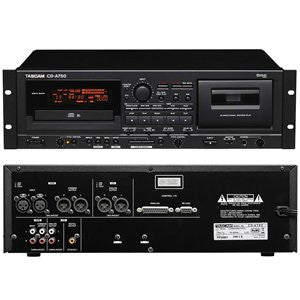 Tascam CD-A750 Combination CD Player & Cassette Recorder