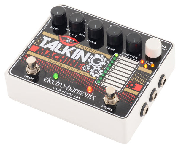 Stereo Talking Machine Vocal Formant Filter