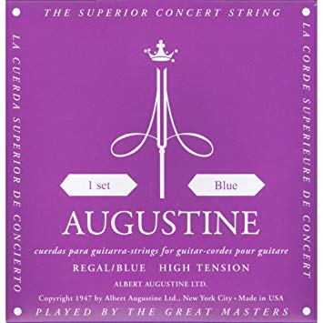 Augustine Regales Blue Set Guitar Strings